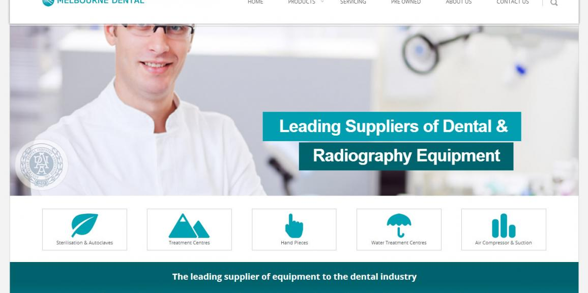 Melbourne Dental Launches New Responsive Website